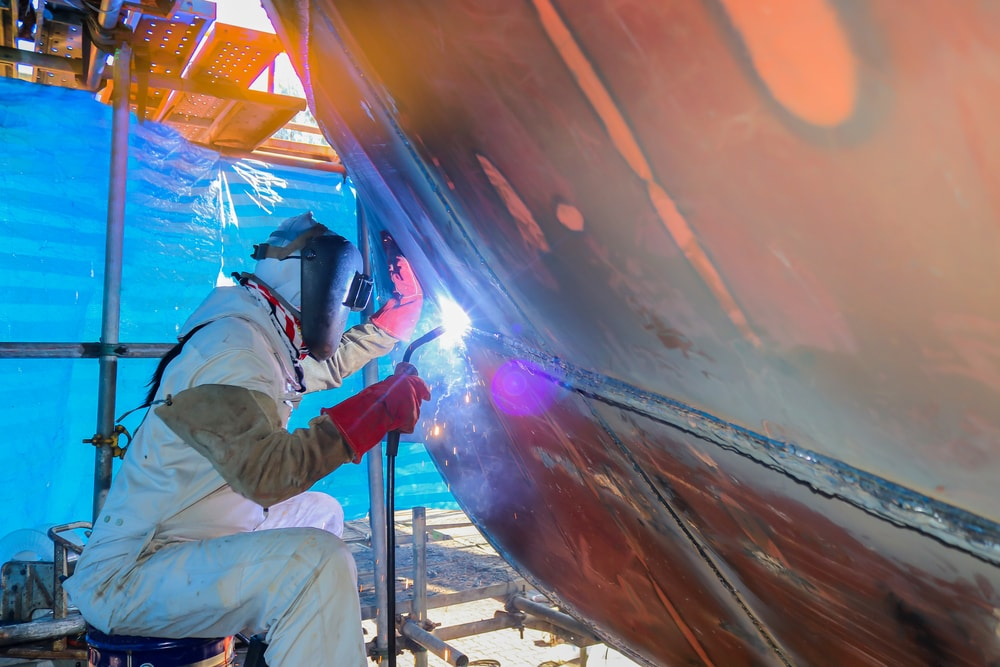 TIG Welding For Marine Applications